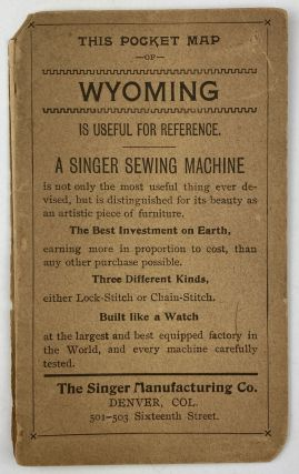 This Pocket Map of Wyoming Is Useful for Reference [cover title]. Wyoming