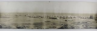 Bird's Eye View. Camp Bowie, Fort Worth Tex. October 1917. Texas, World War I