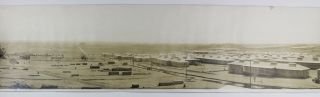 Bird's Eye View. Camp Bowie, Fort Worth Tex. October 1917