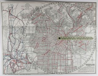 E-Z Guide Map of Los Angeles [cover title]