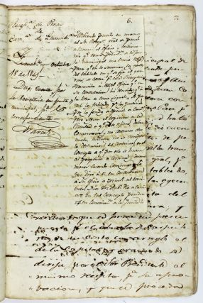 [Manuscript Records of Preparations for the Execution of a Freed Cuban Slave, Condemned for Murder]