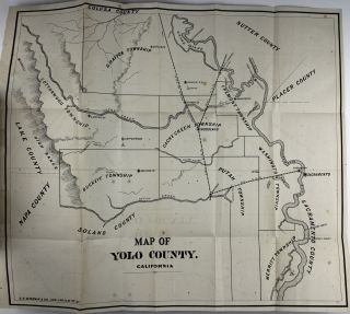 The Western Shore Gazetteer and Commercial Directory, for the State of California... Yolo County. One Volume Being Devoted to Each County of the State...