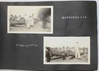 [Vernacular Photograph Album Documenting a 1939 Steamer Trip from New York to South America and the Caribbean]