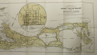 Driving and Cycling Road Map of the Bermuda Islands