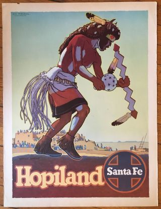Hopiland [caption title]. Santa Fe Railroad, Don Perceval
