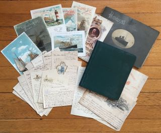 Diary, Photo Album, and Letters Documenting a 1903 Trip to Europe by Joseph Coleman Salters]....