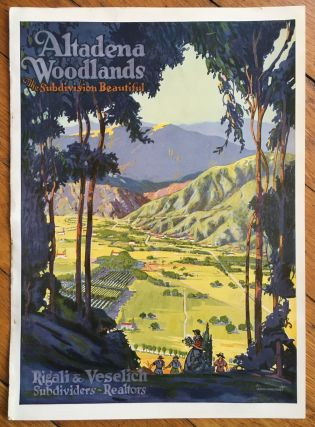 Altadena Woodlands. The Subdivision Beautiful. California, Rigali, Veselich