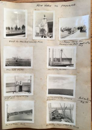 Photo Diary of a 1939 Trip from New York to Central America, Containing over 360 Original...