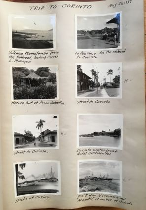 [Photo Diary of a 1939 Trip from New York to Central America, Containing over 360 Original Photographs]