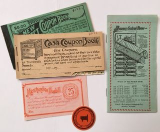 Small Group of Samples and Trade Catalogues from the J.M. Padgett Coupon Co. of Topeka]. Kansas
