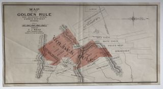 Map of the Golden Rule and Adjacent Mines, Eureka District Nevada. Drawn by T.J. Read Supt....