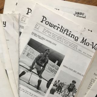 [Archive of African-American Powerlifter, Nate Foster, with Photographs and Nine Issues of Powerlifting Mo-Valley Newsletter]