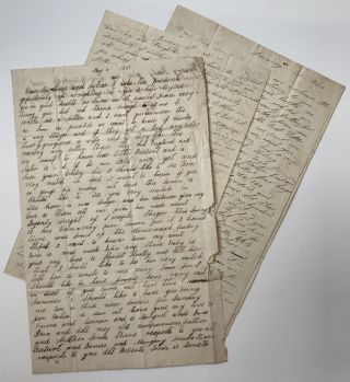 Three Letters Written by an English Family of Farmers, Describing Life After Settling in...