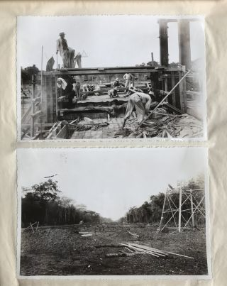 Album of Nearly 100 Photographs Depicting the Construction of a Venezuelan Power Plant]. Venezuela