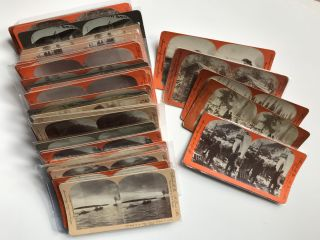 Collection of Thirty-three Stereoviews Depicting Scenes from the Alaska Gold Rush]. Alaska,...