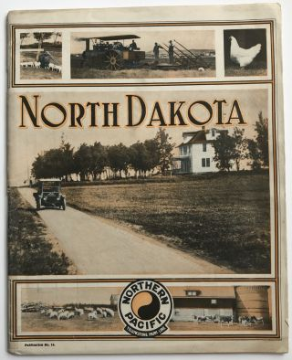 North Dakota [cover title]. Northern Pacific Railway