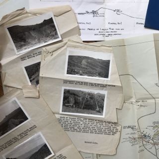 [Small Group of Materials Relating to the Lincoln Mine in Mina, Nevada]