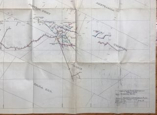 [Tunnel and Surface Map of Mineral Point Mine, near Osburn, Idaho]