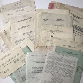 Archive of Typed Military Orders Relating to the Career of Colonel Alva F. Englehart, Spanning...