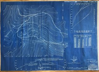 Five Large Blueprints of Early Depression-Era Weber Dam Modifications]. California, Weber Creek Dam