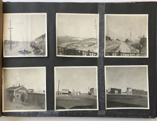 Photograph Album Containing Approximately 180 Images of Travel in Washington, Idaho, Montana,...