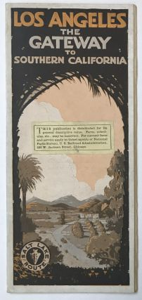 Los Angeles: The Gateway to Southern California [cover title]. California, Railroads