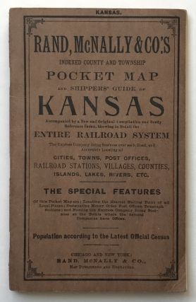 Rand, McNally & Co.'s Indexed County and Township Pocket Map and Shipper's Guide of Kansas. Kansas