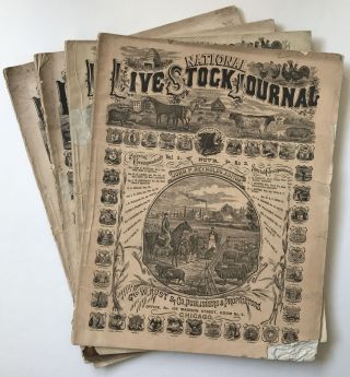 National Live Stock Journal [caption title]. Agriculture