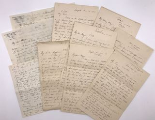 Archive of Ten Letters Written by Mining Engineer William H. Shockley to Fiancee and Fellow...