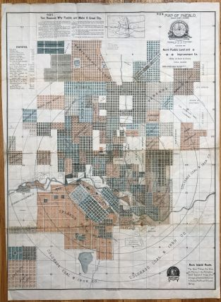 Map of Pueblo, Pueblo County, Colorado [caption title]. Colorado