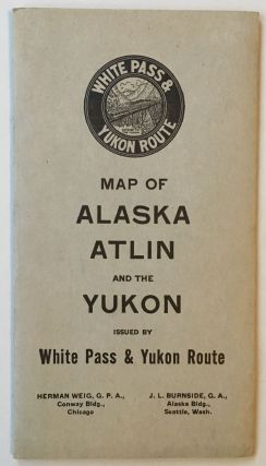 Map of White Pass & Yukon Route and Connections [caption title]. Alaska, Yukon, Railroads