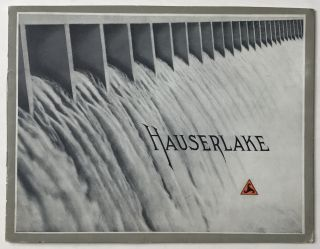 The Hauserlake Dam. An Account of Its Construction. Montana, Water