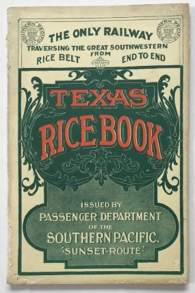 Texas Rice Book [cover title]. Texas