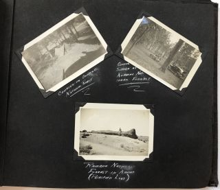 [Photograph Album Containing Nearly 300 Images of Depression-Era Road Trips Through the West and Mexico]