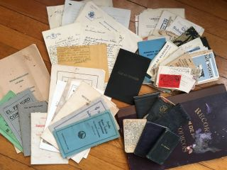 Archive of Notes and Ephemera Relating to the Traffic and Transit of Lima and Santiago]. Mal. T....