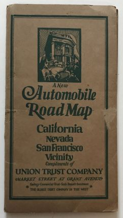 Auto Trails Map No. 15-16 / Auto Trails Map of San Francisco and Vicinity. California, Nevada