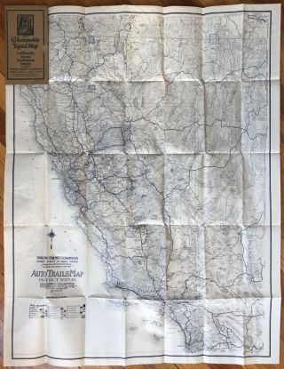 Auto Trails Map No. 15-16 / Auto Trails Map of San Francisco and Vicinity