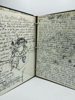 [Original Pen and Ink Manuscript Collection of Tarot and Esoteric Self-instruction Notebooks]